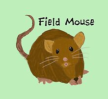 Field Mouse by darkesknight
