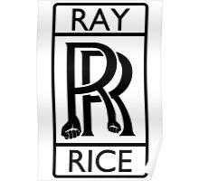 Ray Rice - Rolls Royce parody Poster