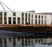 Parliament House, Canberra Sticker