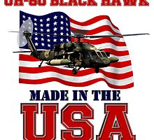 UH-60 Black Hawk Made in the USA by Mil Merchant