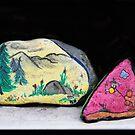 Memories: Mother & Son Painted Stones by heatherfriedman