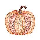 Patterned Pumpkin by Mariya Olshevska