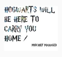 Hogwarts will be here to carry you home - Harry Potter by marissadiane