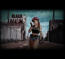 Black Lagoon Revy by sharonguyen