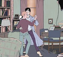 Dance Lessons in 221B by lkaet