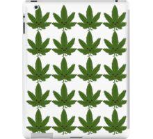 Happy Weed Pattern iPad Case/Skin