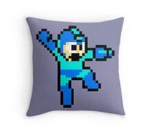 Classic Megaman Throw Pillow