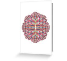 pinkwave (Extended) Greeting Card