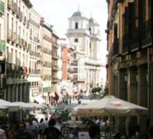 Madrid- Calle de 7 Julio Sticker