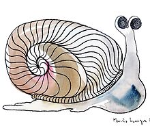 Interpretation #47 - The snail by Ignacio Marino Larrique