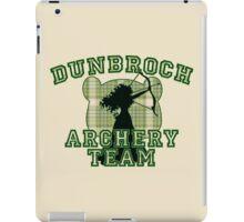 DunBroch Archery Team iPad Case/Skin