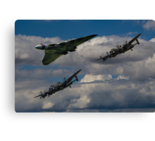 Avro 3Sisters Canvas Print
