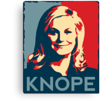 KNOPE We Can Canvas Print