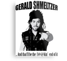 Gerald Shmeltzer Metal Print