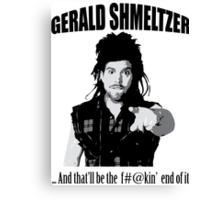 Gerald Shmeltzer Canvas Print
