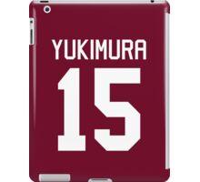 Kira Yukimura #15 iPad Case/Skin
