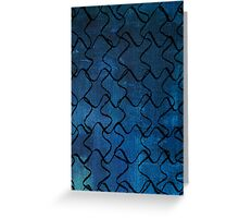 Puzzle Patterns Greeting Card