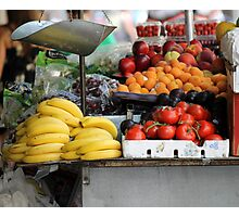 fruit greengrocer Photographic Print