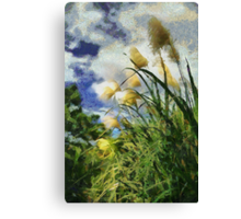Bamboo Fields Canvas Print