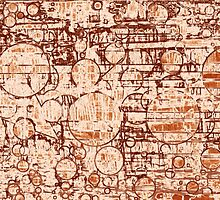 Old Graphic Sandstone - Digital background by pawelstp