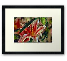 Wild Orchid Framed Print