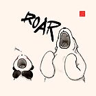 Yawn vs. Roar by Panda And Polar Bear