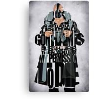 Bane - The Dark Knight Canvas Print