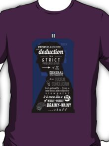 Wholock - A Study in Deduction T-Shirt