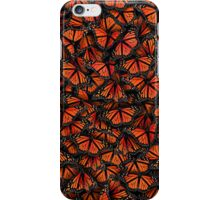 monarch butterflies iPhone Case/Skin