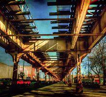 El Tracks Chicago by Marija