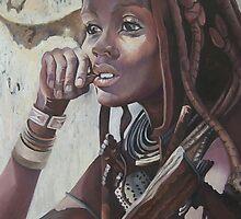Namibian Beauty by Tatyana Binovskaya