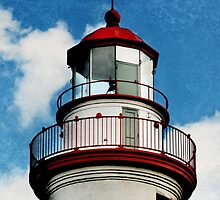Marblehead Lighthouse - Lantern Room by SRowe Art