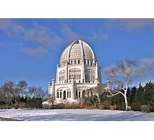 Baha'i Temple in Chicago Photographic Print