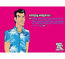 Grand Theft Auto: Vice City - Tommy Vercetti Photographic Print