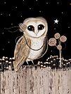 Little Barn Owl by © Karin  Taylor