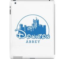 The Wonderful World of Downton Abbey (Downton Abbey + Disney logo mashup) iPad Case/Skin