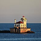 Oswego West Pierhead by reindeer