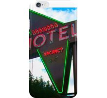 Welcome to The Dogwood Motel iPhone Case/Skin