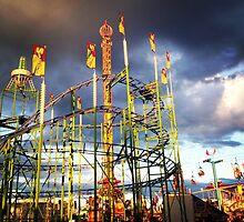 Roller Coaster Ride by Jenna Fullerton