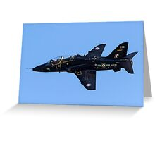 Hawker-Siddeley Hawk T.1A XX230 Greeting Card