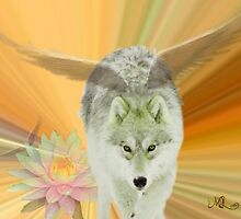 FOR THE LOVE OF WOLVES by Marie Leblanc