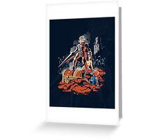 ARMY OF GHOULS Greeting Card