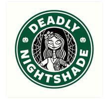 Deadly Nightshade Art Print