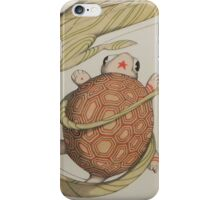 Dragon with turtle iPhone Case/Skin