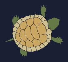 Cute Crawling Little Turtle Tortoise by TheShirtYurt