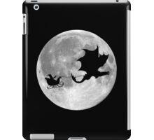 Santa Claus Dragon Rider Sleigh Ride iPad Case/Skin