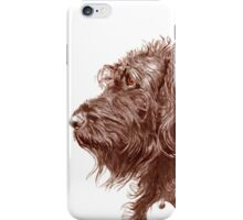 Chocolate Labradoodle iPhone Case/Skin