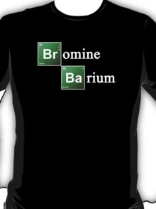 Bromine and Barium Periodic Table Chemistry Elements T-Shirt
