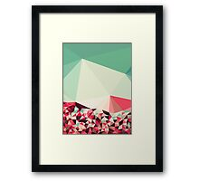 Poppy Field Tris Framed Print