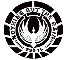 BSG - Nothing But The Rain Photographic Print